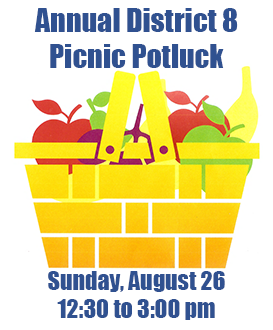 Annual Annual Al-Anon District 8 Picnic Potluck